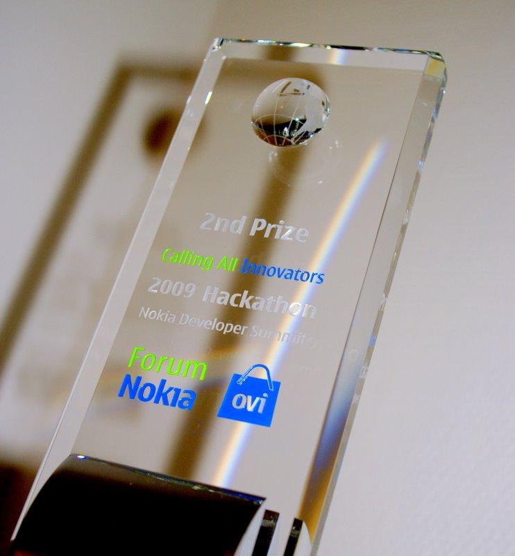 Successful at Nokia Hackathon in Monaco - PavingWays